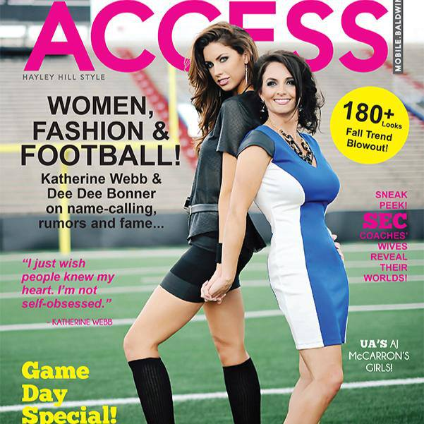 Katherine Webb and Dee Dee Bonner