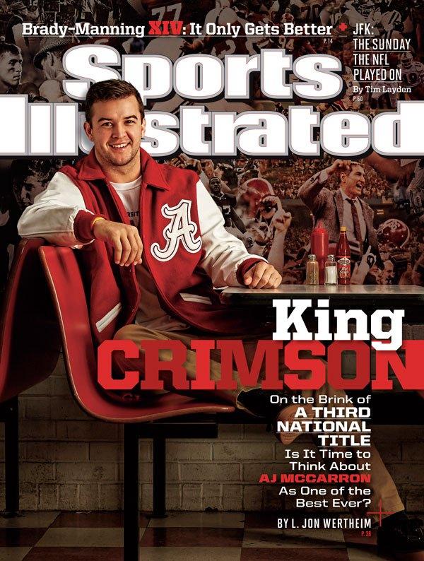 AJ McCarron Cover