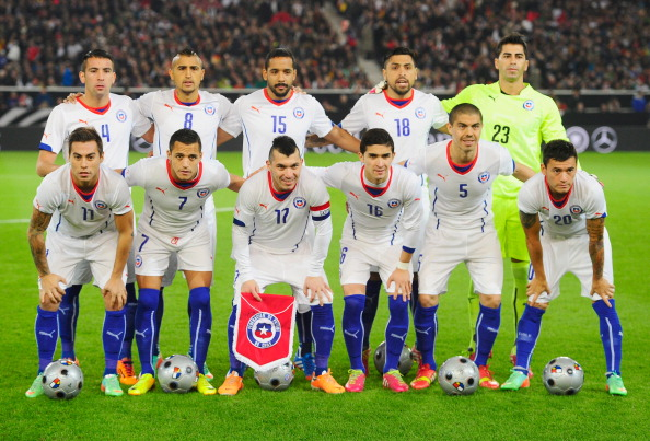 Chilean national football team in 2014