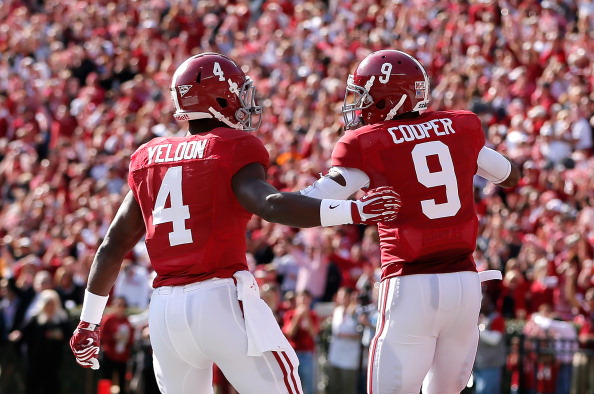 TJ Yeldon and Amari Cooper