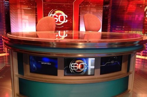 ESPN Sportscenter Desk