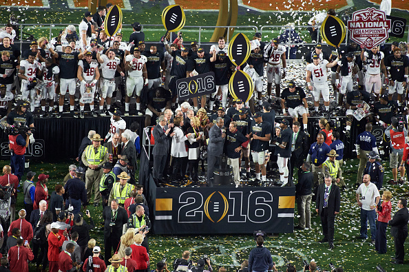 2016 College Football Playoff National Championship presented by AT&T